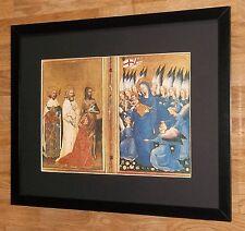 """Richard II et vierge-imprimer religieux - 20 """"x16"""" cadre, tableaux de maîtres"""