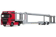 New 1/50 Scale Diecast Transport Truck Transporter Vehicle Car Model Toys