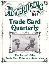 "'95 Spring -""Advertising Trade Card Quarterly""-MAGAZINE"