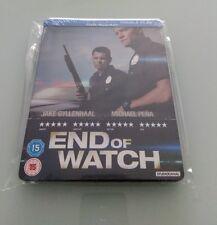 End of Watch Gyllenhaal Zavvi Bluray Steelbook NEU OVP