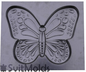 Concrete Mold Butterfly Plaster Concrete Stepping Stone Moth Garden Path D53