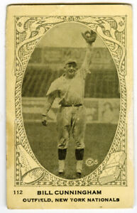 1922 Neilson's Chocolate V61 Bill Cunningham New York Giants
