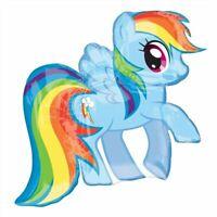 Anagram Supershape - My Little Pony Rainbow - Balloon Party Dash Foil Birthday