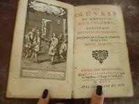 Las De Señor Montfleury 1705C. David París IN 12 / Tr.mouchetees Rojo