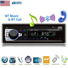 Bluetooth Car Stereo Audio FM Radio MP3 Player USB Flash Disk Hands-Free Calls