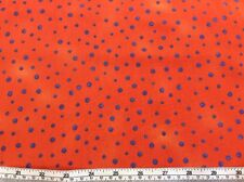 paintbush Studio - Graphix Rango - MORADO Spot On NARANJA - 100% Tela De Algodón