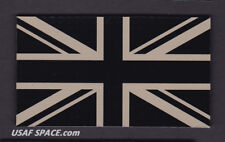 AUTHENTIC -UNION JACK- IR INFRARED REFLECTIVE  BRITISH FLAG MILITARY PATCH ~MINT