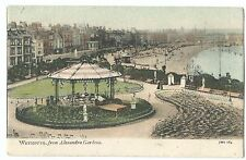 Weymouth From Alexandria Gardens PPC Unposted, Now Replaced by Amusement Arcade