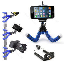 Blue Android Google Mobile Phone Camera Tripod Gorilla Octopus Mount Stand Hold