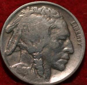 1918-D  Denver Mint Buffalo Nickel