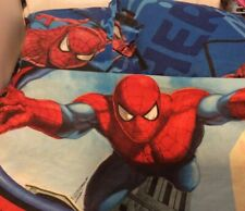Marvel SPIDERMAN  3Pc. Fitted Flat Bed Sheet, & Pillowcase