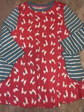 Mini Boden Llama Tunic Dress 8-9 Immaculate Worn Once