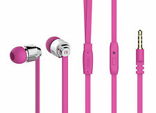 In-ear Stereo Cuffia auricolare per Tablet, Ipod, MP3, MP4, i giocatori Rosa 460