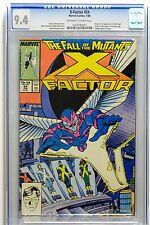 X-Factor # 24 CGC 9.4 1st Appearance of Archangel NM Marvel X-men Apocalypse