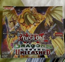 Yu-Gi-Oh Dragons of Legend Unleashed 1st Ed. Booster Box Sealed Brand New