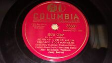 JOHNNY DODDS CHICAGO FOOTWARMERS Brush Stomp/Get Em Again Blues / Columbia 35681