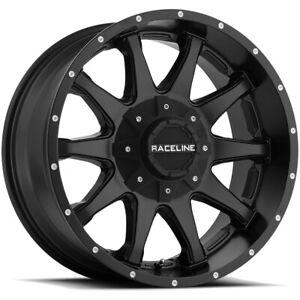 "17"" Inch Raceline 930B Shift 17x9 5x135/5x5"" -12mm Satin Black Wheel Rim"