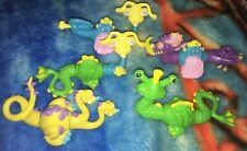 🐍5 Vtg 1980s Current Toy Interchangeable/Interlock Dragons/Sea Monsters/Krakens