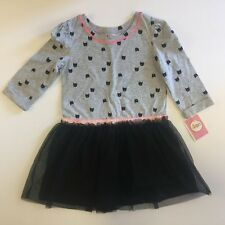 NWT 5T Halloween Black Cat Tulle Pettiskirt Dress
