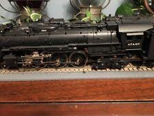 Santa Fe 3400 class 4-6-4 older Pfm brass locomotive train