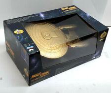 Star Trek:Next Generation Gold Enterprise 1701-D- Playmates #6112- Boxed- MIB