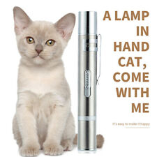 Mini Pet Cat Flashlight Cat Chase Interactive Toy Rechargeable LED Penlight