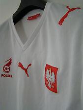 Maglia Shirt POLONIA Vintage PUMA - periodo Milik, Lewandowski, napoli