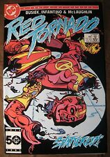 Red Tornado #2 Near Mint NM (1985 DC Comic) FREE Plastic Bag and White Board