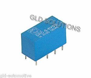 RELE' DIL DOPPIO SCAMBIO 6 V resistenza bobina 80 ohm potenza 450 mW  1A/30 VDC