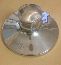 Lovely Antique Hallmarked 1919 Heavy Solid Silver Inkwell