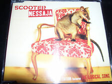 Scooter Nessaja / The Logical song Australian 6 Track Remixes CD - Like New