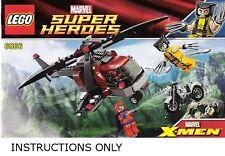 (Instructions) for LEGO 6866 - X-men - Wolverine's Chopper Showdown - Manual