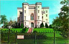 Baton Rouge LA Old State Capitol Medival Building Postcard unused (13059)