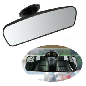 Car Interior Wide Angle Rear View Mirror with Suction Cup For Ford Toyota Honda