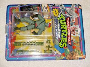 1992 TMNT MOC Sealed card Teenage Mutant Ninja Turtles Movie Star Foot Soldier
