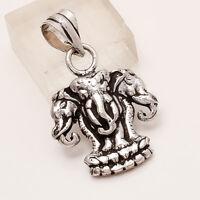 925 Sterling Silver Kingdom of Laos Pendant Handmade Unisex Fine Jewelry Gifts