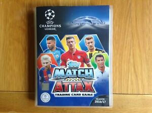 Topps Champions League 16/17 Complete set (all 461 cards)