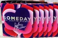 "JUSTIN BIEBER ""SOMEDAY"" LOT OF 12  1.5 ML EDT+ FREE ATOMIZER+TOTE BAG"