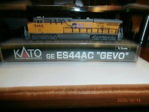 """KATO N-SCALE  GE ES44AC """"GEVO """" DIESEL LOCOMOTIVE--UNION PACIFIC--5460"""