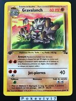 Carte Pokemon GRAVALANCH 37/62 Unco Fossile Wizard EDITION 1 FR NEUF