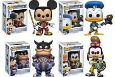 Kingdom Hearts Funko Pop: 4 IN VINILE! Pack (topolino/paperino/pippo/Pete) ** PRE-ORDINE **