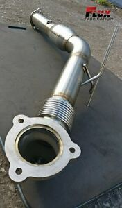 """Volvo S60/V70 3"""" Stainless downpipe"""