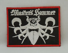 MASTER'S HAMMER Band Logo (Embroidered Small Patch) (New)
