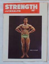 vintage bodybuilding magazine - Strength & Health - 04/1953 - TTBE