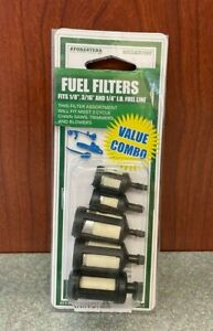 Fuel Filter Combo Kit for Chainsaws Trimmers Blowers, 1/8 3/16 1/4 Line FFKIT145