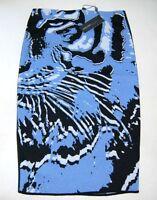 Luxus Marc Cain Rock Gr.38 N3 Neu Tiger mit Schurwolle Stretch zum Mantel
