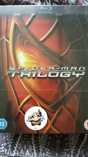 Spider-Man Trilogy (Blu-ray, 2012, Box Set) 3 DVD Set New And Sealed