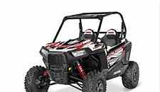 NOS Polaris RZR 900 1000 RED Race Graphics Kit,Decal 2880844 -Retails for $600 *