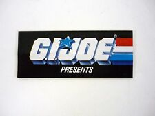 GI JOE PRESENTS CATALOG Vintage Brochure Booklet COMPLETE w/ORDER FORM 1987