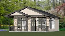24x32 House -- 1 Bedroom 1 Bath -- PDF Floor Plan -- 768 sq ft -- Model 1A